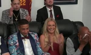 NBA Draft lottery pick Tyrese Haliburton and his girlfriend Jade Jones
