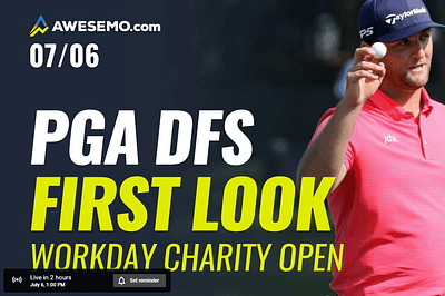 The PGA DFS Show with Ben Rasa, Sal Vetri and Geoff Ulrich previews Workday Charity Open for DraftKings, FanDuel and SuperDraft + best bets!