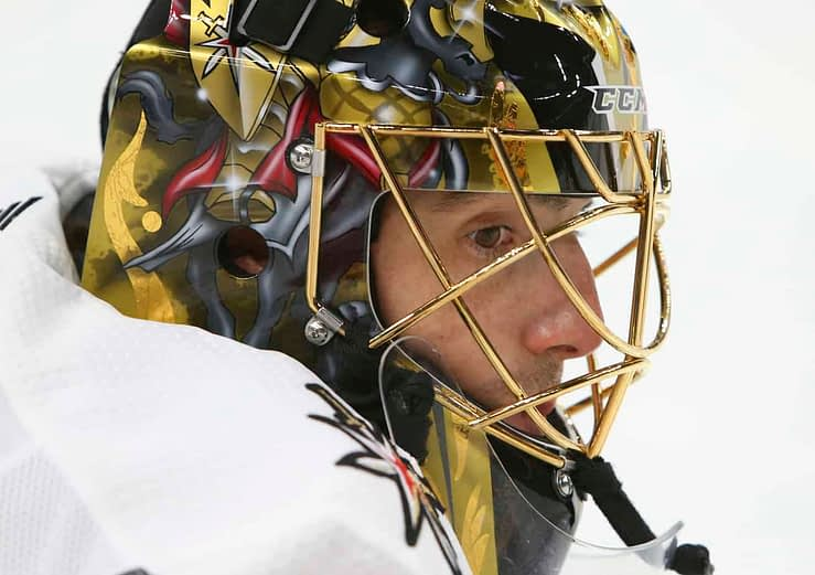 After being traded from Vegas to the Chicago Blackhawks, it's now being reported that goaltender Marc-Andre Fleury is considering retirement