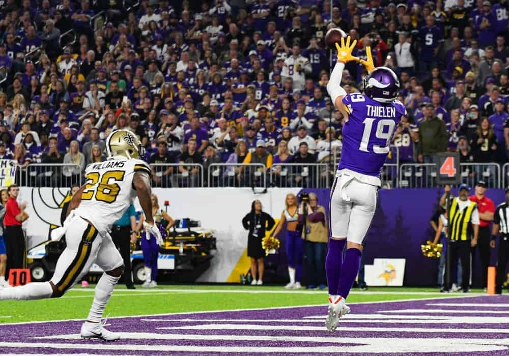 Sam Smith's WR vs. CB Matchups includes Top Week 6 NFL DFS picks like Adam Thielen and A.J. Brown | DraftKings + FanDuel | 10/14