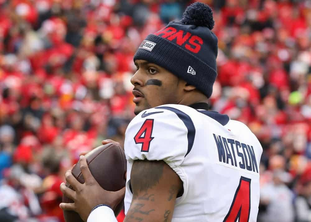 Houston Texans quarterback Deshaun Watson is said to be eyeing another team while he's absent from minicamp due to well-known legal trouble