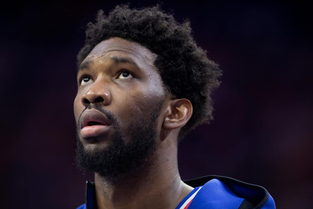 NBA DFS Picks and Projections for DraftKings and FanDuel lineups on Friday March 12 with Joel Embiid