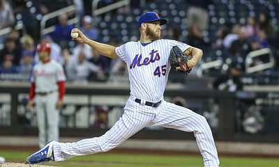 DraftKings DFS MLB picks like Zack Wheeler for September 26 MLB DFS based on projections and ownership from the number 1 DFS player.