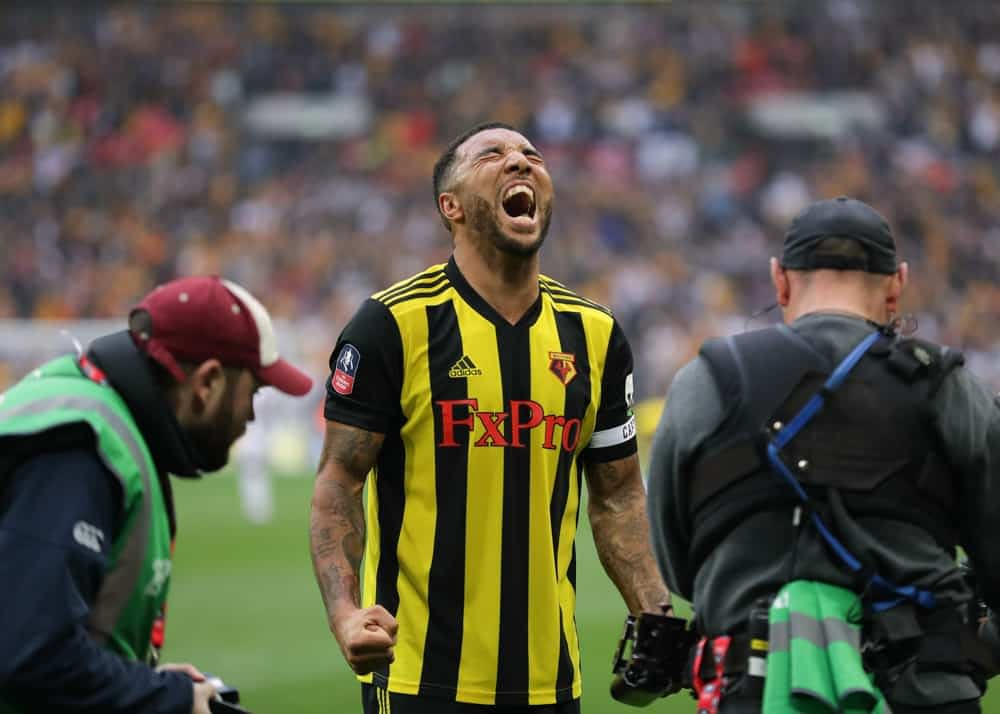 Watford and Troy Deeney will look to get back on their feet after two disappointing losses. Brighton won't go down easy on home turf.