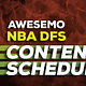 Here at Awesemo we strive to improve our NBA DFS content every year, by offering new data, tools, articles and shows for Draftkings & FanDuel
