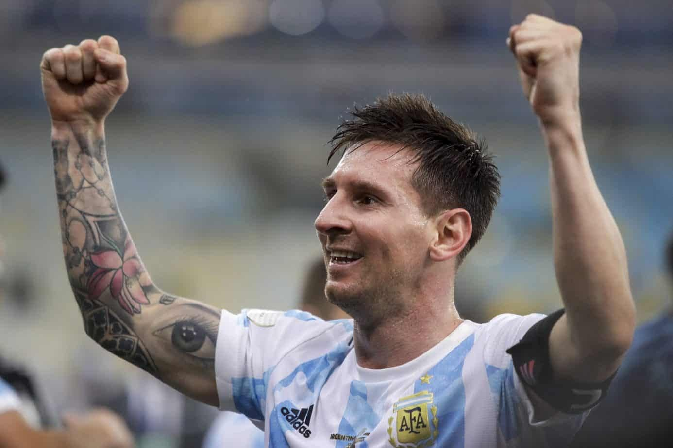 By posting a picture with the Copa America Trophy, Lionel Messi broke a record that was previously held by rival Cristiano Ronaldo