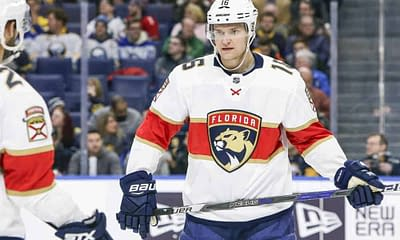 NHL DFS Picks DraftKIngs FanDuel Top Stacks optimal lineup optimizer free expert projections rankings ownership tournament strategy tonight daily fantasy hockey Aleksander Barkov Florida Panthers New York Islanders power play goals assists saves points