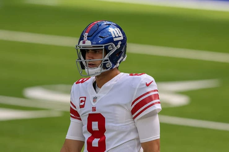 New York Giants quarterback Daniel Jones spoke on the apparent shouting match he had on the sidelines with receiver Kenny Golladay during Thursday Night Football