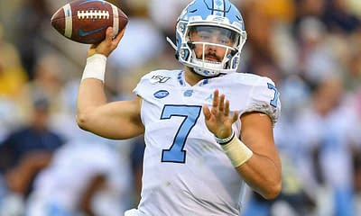 PrizePicks CFB DFS College Football NCAAF projections ownership props Sam Howell Saturday October 9