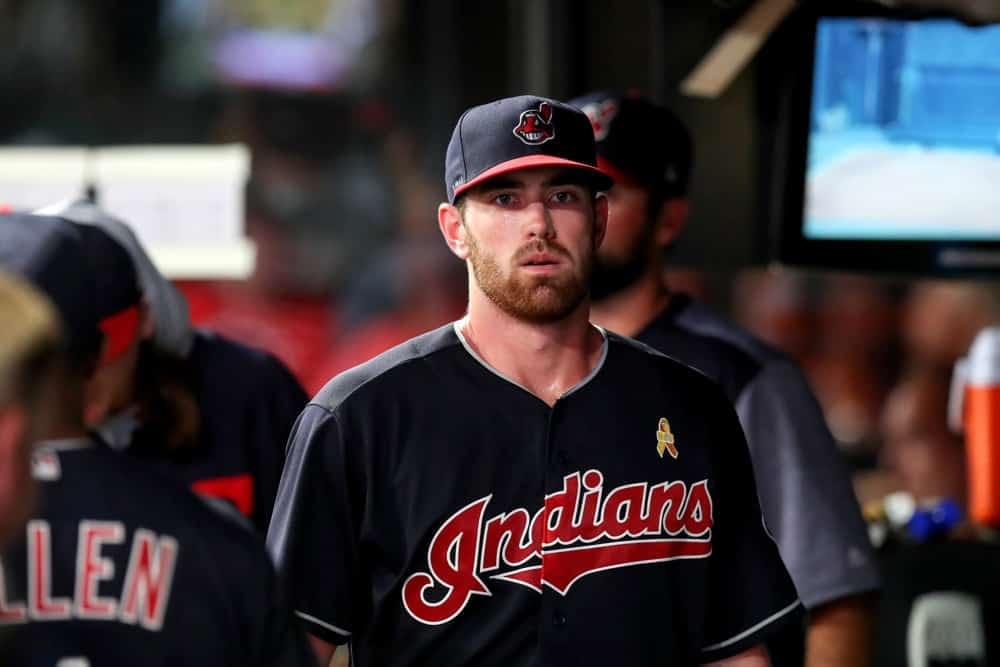 DraftKings & FanDuel Daily Fantasy Baseball top starting pitchers for Wednesday April 7 based on Awesemo's Top Pitchers Tool with Shane Bieber