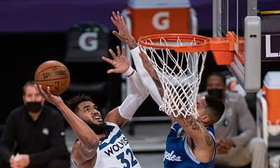 NBA DFS Picks DraftKings FanDuel optimal lineup optimizer today tonight daily fantasy basketball roster injury report ownership projections rankings free expert advice tips strategy Karl-Anthony Towns October 23 2021