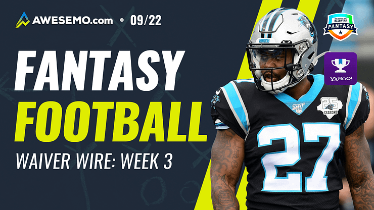 Mike Barner gives out his favorite FREE fantasy football Week 2 waiver wire pickups for your fantasy teams | Mike Davis + More | 9/22