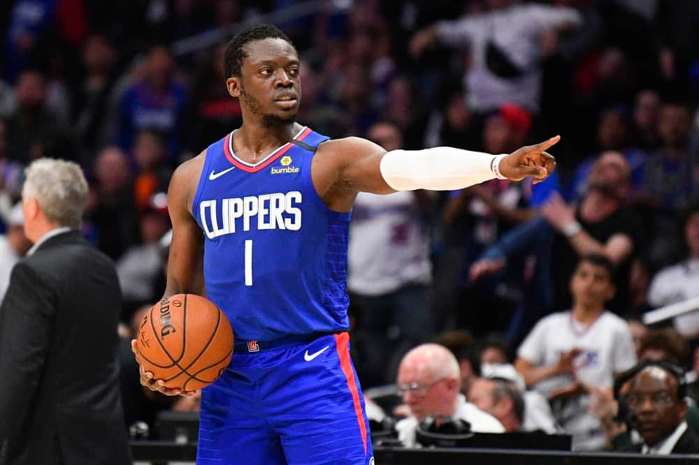 NBA FanDuel DFS daily fantasy basketball lineups. NBA Playoff cheat sheet 6/8/21. Awesemo's picks and projections June 8 with Reggie Jackson.