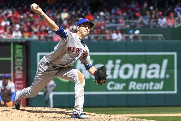 DraftKings & FanDuel Daily Fantasy baseball top pitchers and DFS picks for Friday April 16 featuring Jacob deGrom