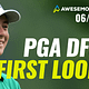 Join Ben Rasa, Sal Vetri and Geoff Ulirch today! as they give their first impressions of the Charles Schwab Challenge and some PGA DFS Picks