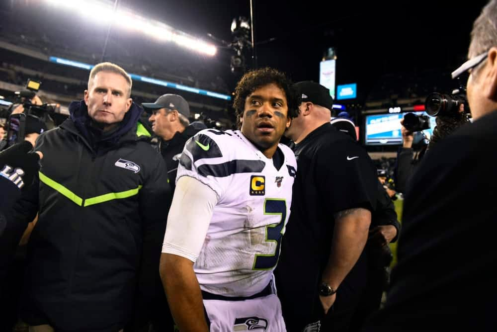 Seattle Seahawks quarterback Russell Wilson speaks on all the reports of him wanting out over the offseason
