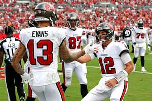 Week 6 NFL DFS Showdown Picks DraftKings FanDuel Thursday Night FOotball Buccaneers vs. Eagles tonight free expert advice tips strategy lineup optimizer optimal roster constructions best bets picks predictions odds lines parlays TOm Brady Mike Evans Chris Godwin Jalen Hurts props