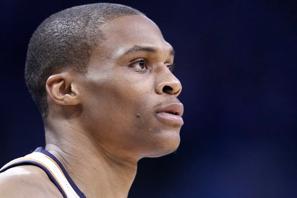 NBA player prop betting picks, predictions tonight Russell Westbrook over assists Monday May 10