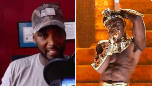 Former NBA bust Kwame Brown had an issue with seeing Lil Nas X kiss a man on stage during the BET Awards on Monday night