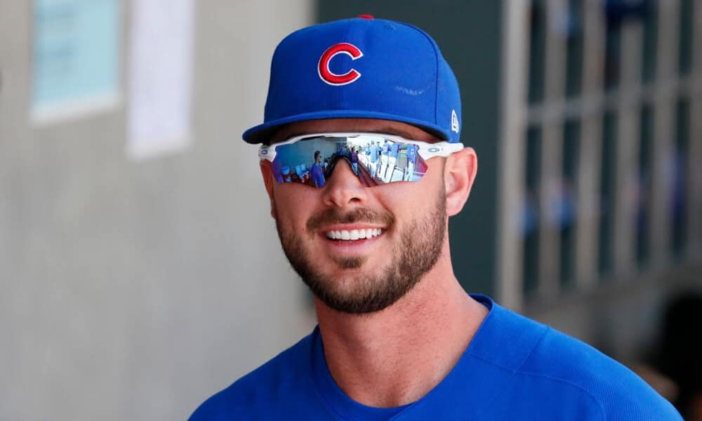 Prior to his return to Wrigley Field with the Giants, Kris Bryant walked through Wrigleyville and made a stop by his mural on a famous bar