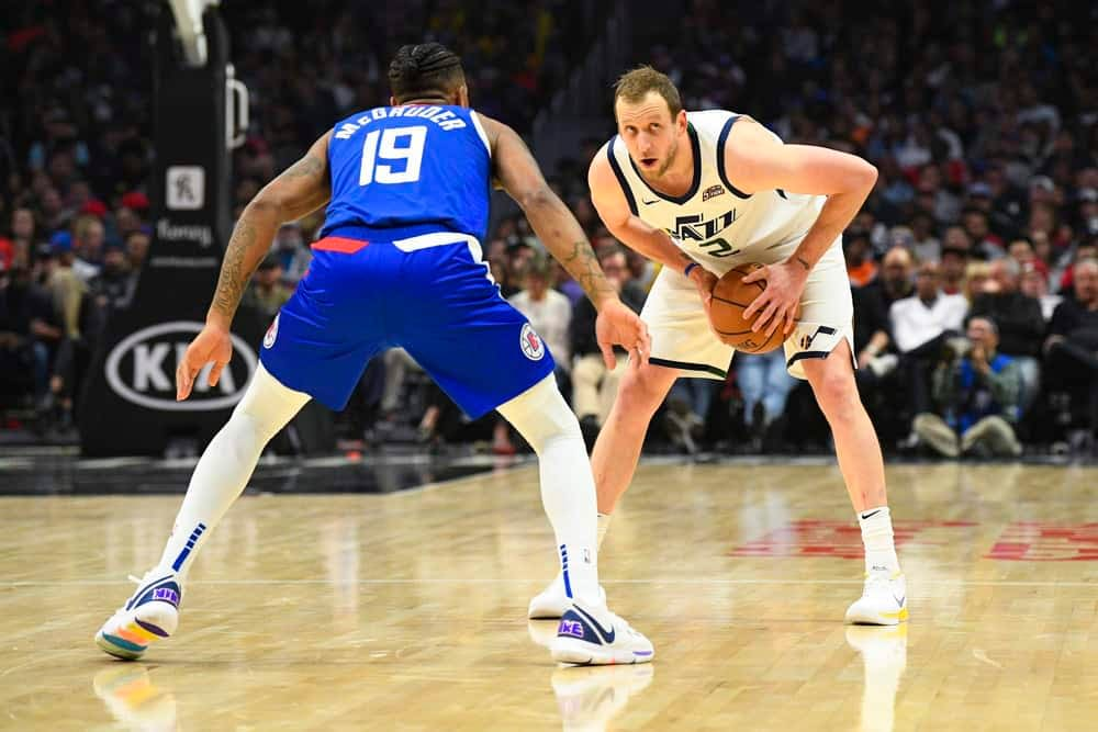 Utah Jazz wing Joe Ingles spoke on the longtime feud with Clippers star Paul George prior to Game Two on Thursday
