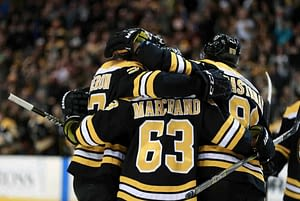 FanDuel NHL DFS playoff picks for daily fantasy hockey lineups. Awesemo's FREE cheat sheet with expert projections   Brad Marchand 6/9/21.