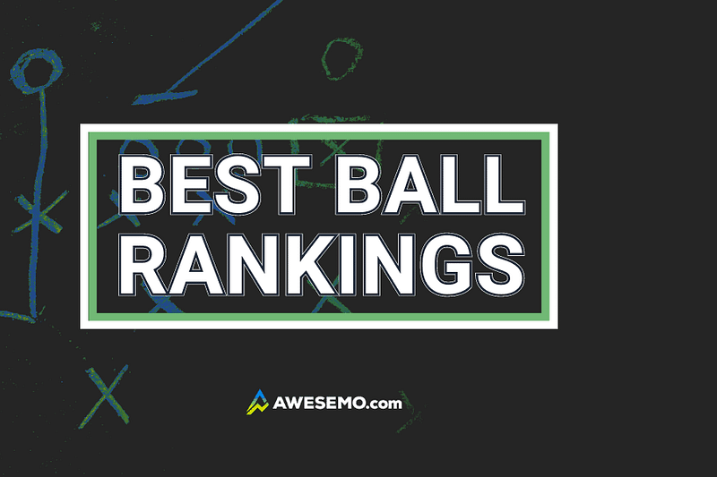Alex 'Awesemo' Baker gives out his 2021 fantasy football best ball rankings for UnderDog, FFPC, Yahoo and DraftKings (PREMIUM)