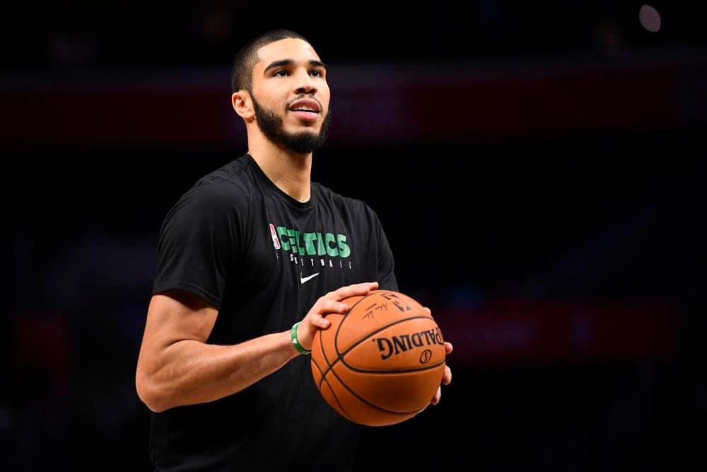 NBA daily fantasy picks for DraftKings and FanDuel lineups based on Awesemo's expert projections and ownership with Jayson Tatum