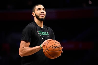DraftKIngs & FanDuel NBA Fantasy Projections and expert picks for DFS basketball lineups on Saturday May 15 with Jayson Tatum