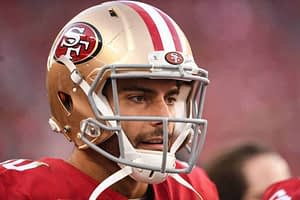 NFL DFS Picks: EMac and Kyle Dvorchak analyze the Sunday Night Football 49ers vs Rams showdown slate | DraftKings FanDuel