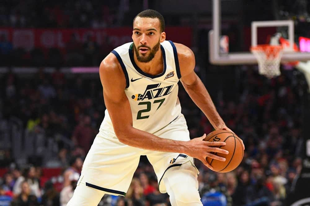 NBA Player Prop Bets tonight Rudy Gobert for Friday February 26