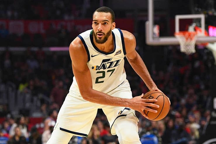 EMac gives his favorite NBA DFS picks for Yahoo, DraftKings + FanDuel daily fantasy basketball lineups, including Rudy Gobert | 5/10/21