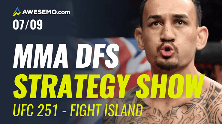 The MMA DFS Strategy Show for UFC 251: Usman vs Masvidal.Top options for your UFC DFS Lineups on DraftKings and FanDuel.