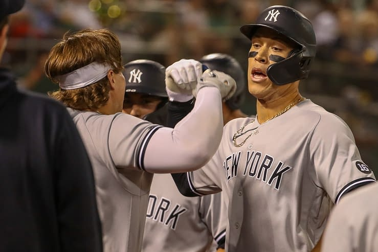 Best MLB bets today Betting odds picks player props AL Wild Card Yankees vs. Red Sox tonight OCtober 5 2021 Aaron Judge Gerrit Cole free expert advice lines predictions parlays over/under