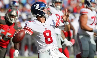 Monday Night Football Buccaneers vs Giants NFL betting preview, with NFL odds, moneyline, against the spread, NFL picks and NFL predictions.