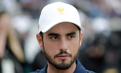PGA DFS picks. Daily fantasy golf expert live stream breaking down the CJ Cup for DraftKings + FanDuel with Abraham Ancer.