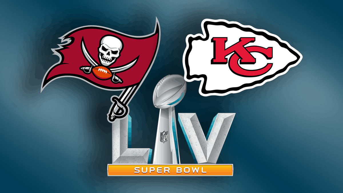 Super Bowl LV Betting Picks featuring the Kansas City Chiefs vs Tampa Bay Buccaneers moneyline, spread, odds, best bets