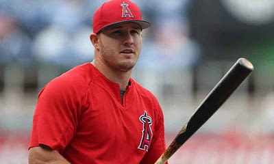DraftKings MLB DFS daily fantasy baseball picks cheat sheet for early slates on Wednesday April 21 with Mike Trout