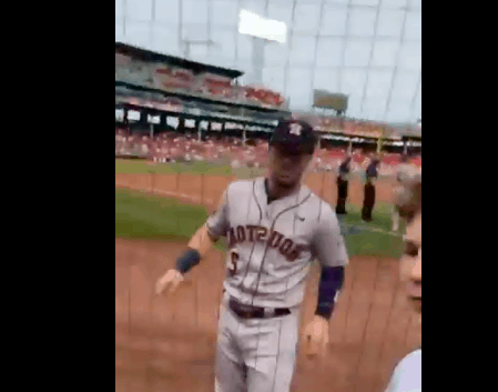 Houston Astros third baseman Alex Bregman was the victim of a savage troll job by a young Red Sox fan earlier in the week