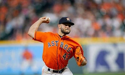 MLB DFS Picks. FREE DraftKings Daily Fantasy Baseball lineup advice based on Alex Baker's expert projections for 7/21 with Lance McCullers.