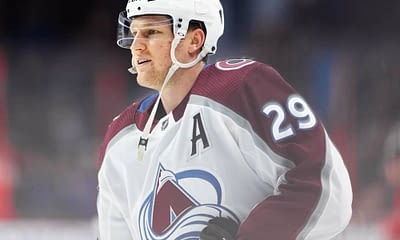 DraftKings and FanDuel NHL DFS Picks for daily fantasy hockey lineups tonight Monday May 3 with Nathan MacKinnon based on Awesemo's projections and top stacks tool