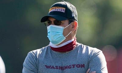 """Washington Football Team head coach Ron RIvera pointed to his medical history as one of the reasons he's """"beyond frustrated"""" with the unvaccinated players"""
