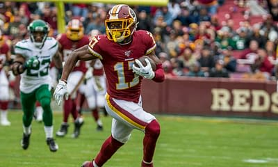 NFL Prop bets and betting picks for Wild Card Saturday Buccaneers vs Washington Football Team January 9 2021 Terry McLaurin