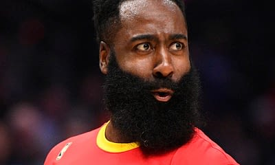 Awesemo brings the 2/10/21 NBA DraftKings Picks cheat sheet for daily fantasy basketball lineups on Feb. 9, including James Harden.