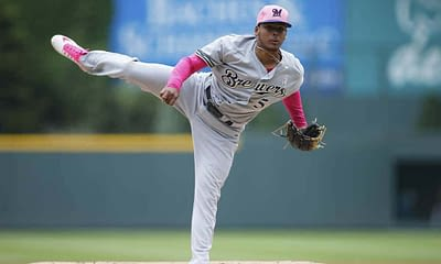 MLB DFS Picks. FREE DraftKings Daily Fantasy Baseball lineup advice based on Alex Baker's expert projections for 7/23 with Freddy Peralta.