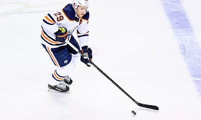 DraftKings NHL DFS Picks for daily fantasy hockey lineups. Awesemo's FREE cheat sheet with expert projections | Leon Draisaitl 5/24/21.