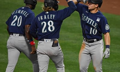 MLB Yahoo CUp DFS Picks tonight Friday June 4 for daily fantasy baseball rosters with expert projections ownership and rankings with Jarred Kelenic, Matt Olson and Zack Wheeler