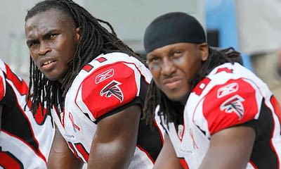 Former Atlanta Falcons star receivers Julio Jones and Roddy White are reportedly being sued for laundering after selling a whole bunch of weed