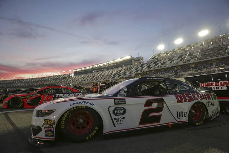 Free DraftKings NASCAR DFS Picks cheat sheet for Foxwoods Resort Casino 301 race with daily fantasy lineup projections for Brad Keselowski.